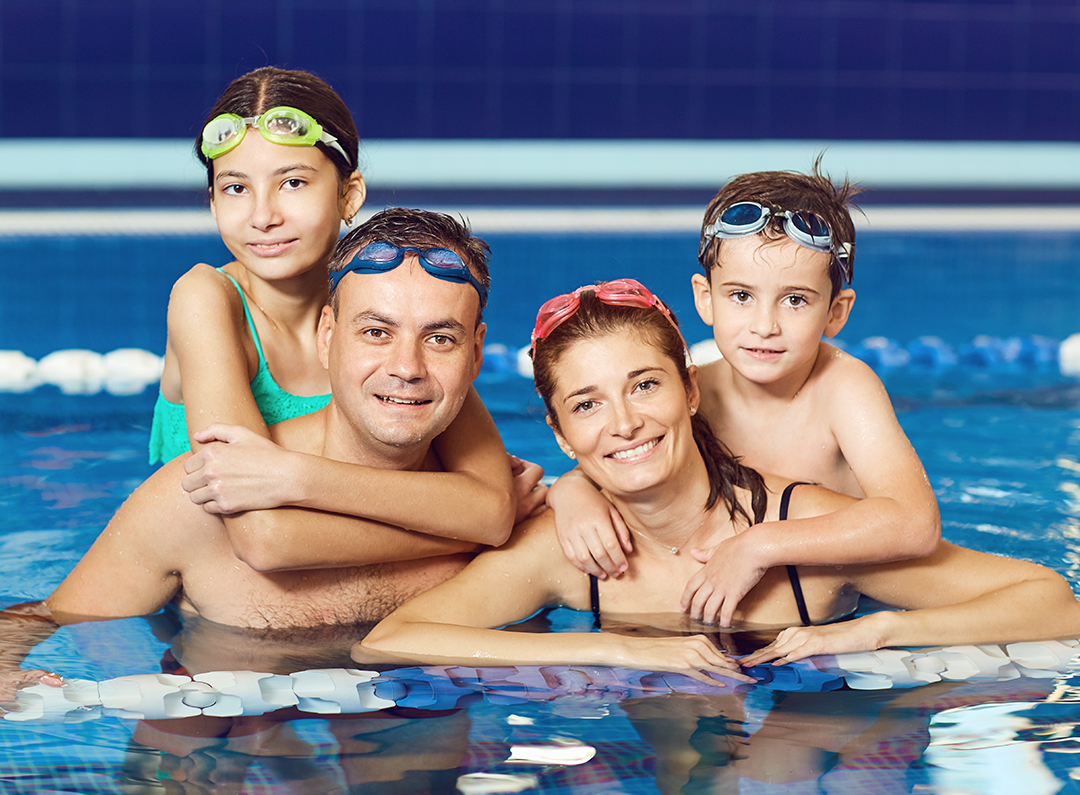 Family and Open Swim in Lynchburg Virginia at the YMCA