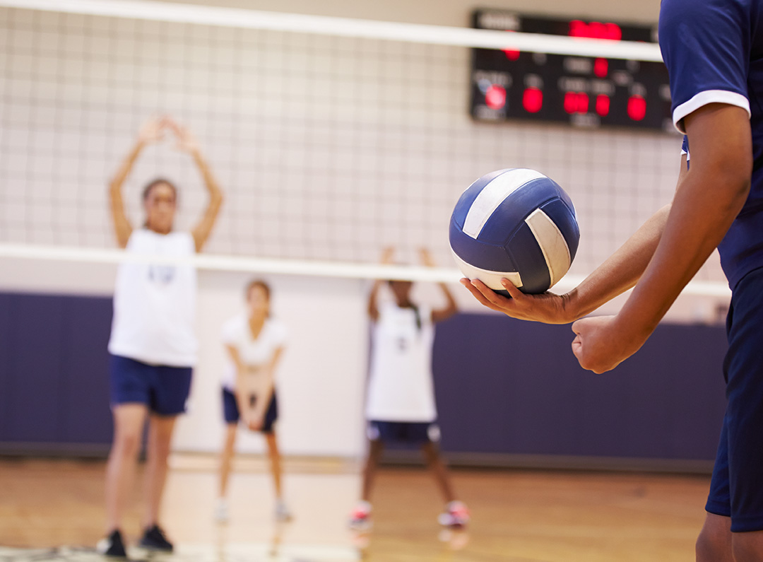 Adult Volleyball at the Central Virginia YMCA